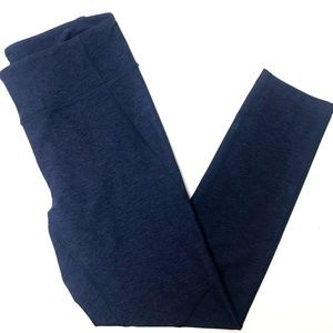 Outdoor Voices Pants - Outdoor Voices 3/4 Leggings Length - Navy - S